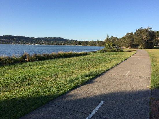 Warners Bay, Austrália: Easy flat walks