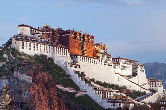 Kathmandu Valley, Nepal: Potala Palace in Lhasa