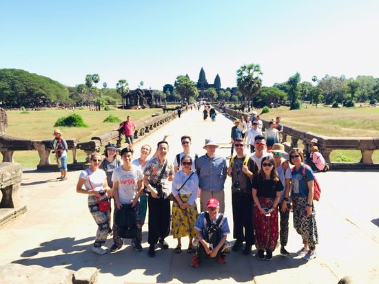Chhayakim Private Angkor Wat Tours ภาพถ่าย