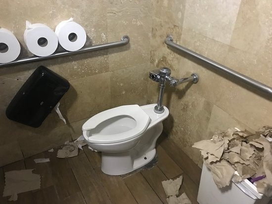 Image result for gross restaurant bathroom