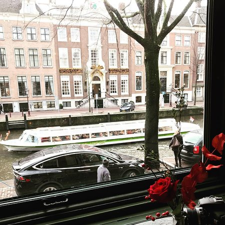 Museum of Bags and Purses: High tea view