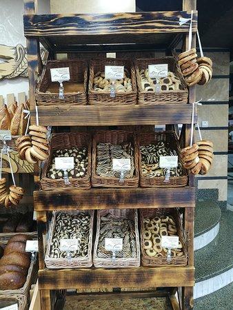 Aparan, أرمينيا: Fresh Armenian pastries, sweet and savory