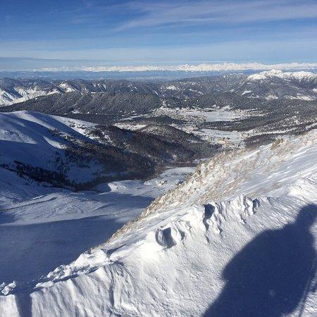 Bakuriani, Georgia: Here is the Didveli lift ski area.