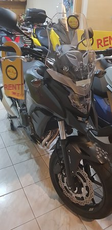 They have Honda CB500X for rent.