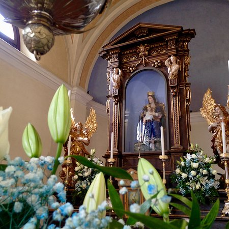 Canegrate, Italy: Particolari della Chiesa alla festa annuale