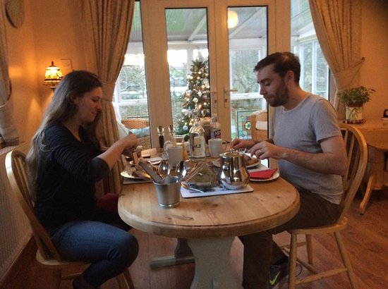 The Firs at Hay-on-Wye B&B: We welcomed our first guests do 2019. Happy New Year!