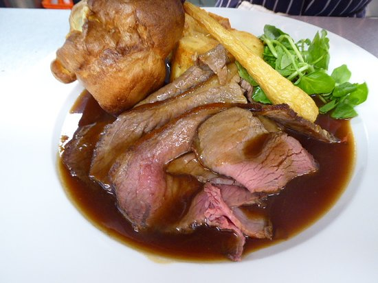 Minster Lovell, UK: We also do a fantastic Sunday Roast.