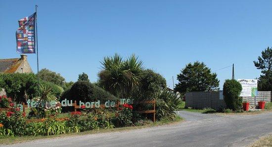 Gatteville-le-Phare, France: Entrée du camping