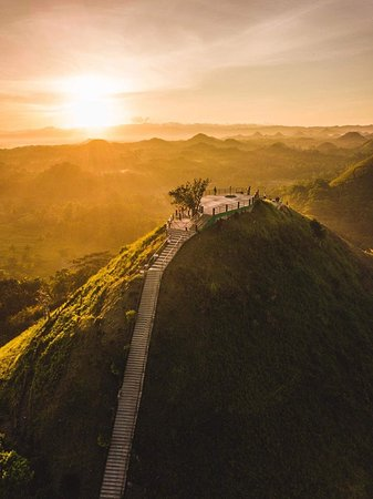 Tagbilaran City, Filipina: choco hills