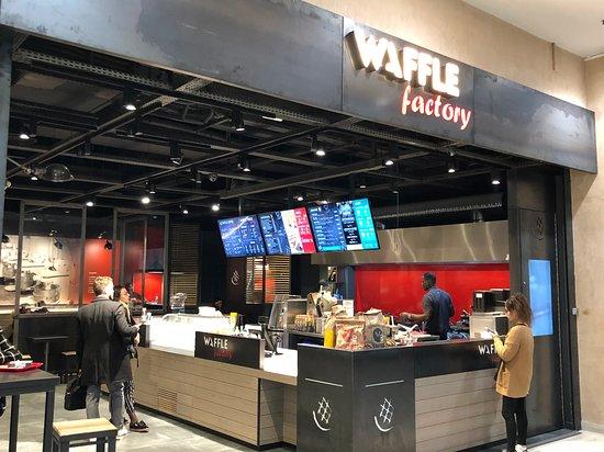 Waffle Factory à Montigny-le-Bretonneux.
