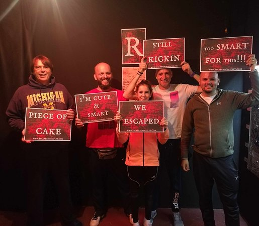 Escape Room Split Mystery room