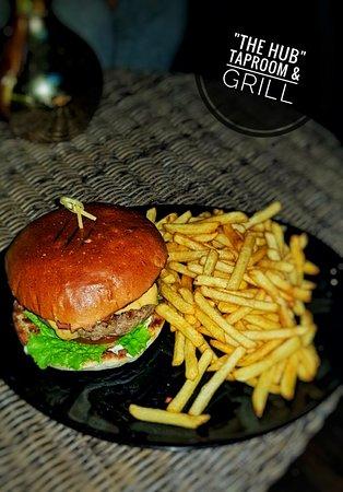 Cheesebacon Angus beef burger