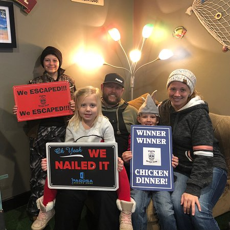 We had a blast! This was very cleverly done and we have been to some great escape rooms before.