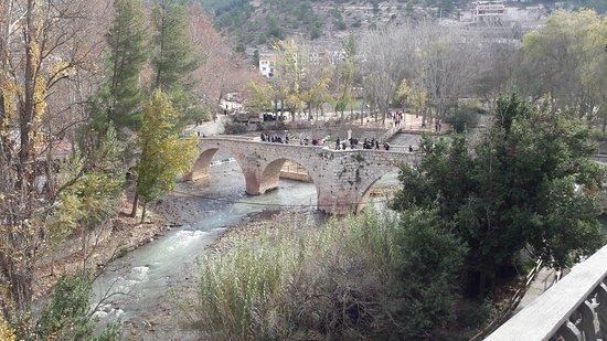 Alcala del Jucar, İspanya: Puente romano