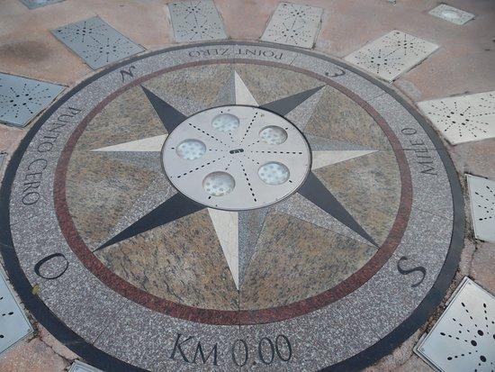 Zero Kilometer Marker