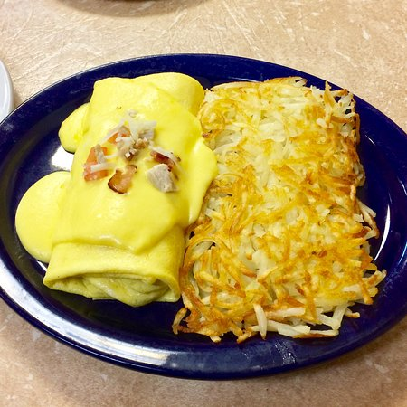 Country Omelette with Hash Browns! Dang Right!!