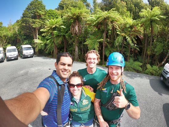 Rotorua Canopy Tours: Had a Great time!!