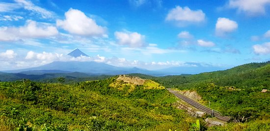 The great Mayon volcano of Bicol region.