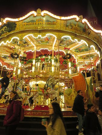 Double decker carousel