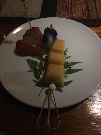 fresh fruit for dessert