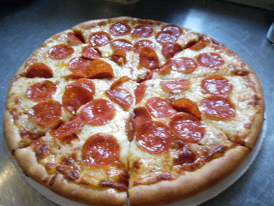 Island Pond, VT: our delicious Pepperoni pizza
