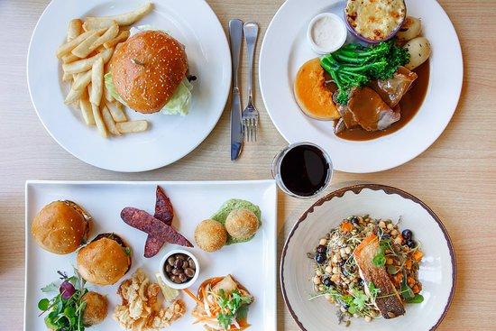Mount Barker, Australien: Share Platter, Burgers & Main Meals both Classic Pub and Modern