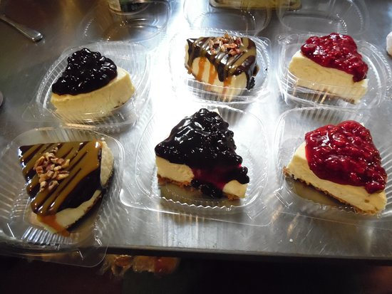 Island Pond, VT: these are our cheesecake pieces