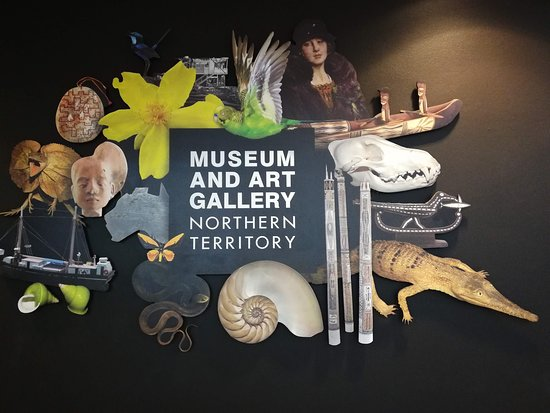 Museum and Art Gallery of the Northern Territory: Entrance Sign