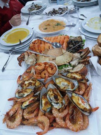 Santa Comba Dao, Portugal: Mariscada muito boa