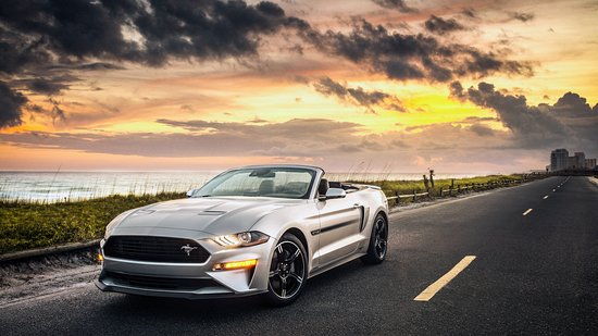 Flat Rock, MI: Ford Mustang GT CONVERTIBLE - Luxuriousness of Car's Life!  Body Style: Convertible Dimensions Wheelbase (in.): 107.1Length, Overall (in.): 188.3Width, Max w/o mirrors (in.): 75.4 Height, Overall (in.): 54.9 Doors & Windows Rear Defrost Power Windows Doors & Windows Rear Defrost Power Windows Exterior Features Convertible Soft Top Rear Spoiler Measurements Base Curb Weight (lbs.): 3825Tires & WheelsTires - Front PerformanceTires - Rear