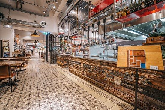 Restaurant über Dem Kare Möbelhaus Die Küche Im Kraftwerk München