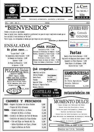 imagen Restaurante de Cine en Ávila