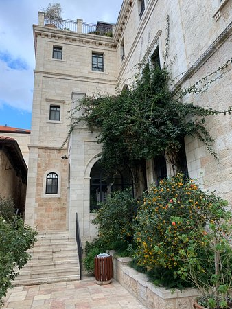 Top notch hotel in East Jerusalem, steps away from the Old City!