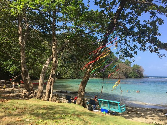 Portobelo, Panamá: The beautiful private barch