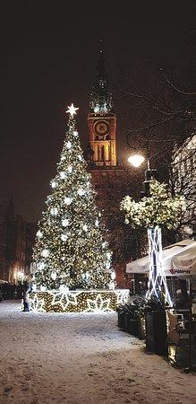 Długi Targ Square: szczęśliwego Nowego roku 🌲🍾🙏🏼🎁🎉