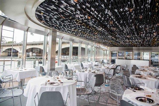 פריס, צרפת: Restaurant Ducasse sur Seine 
