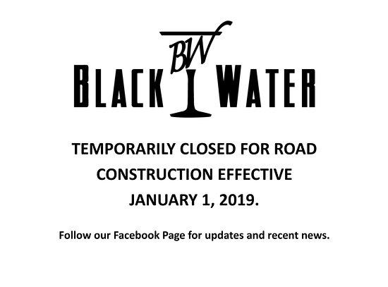 Blackwater Lounge: January 1, 2019.