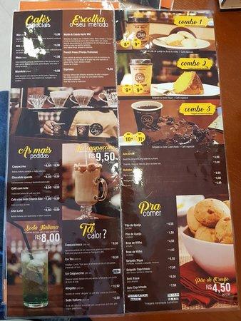 Menu - café micro lote na prensa francesa