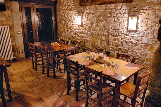 Monzuno, Italia: Take time and enjoy the meal