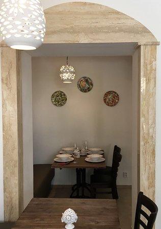 Gastronomia i Trulli interiér naší restaurace