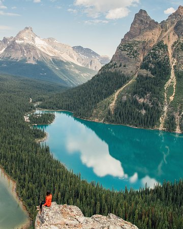 Yoho National Park, Canadá: Best seat in the house.