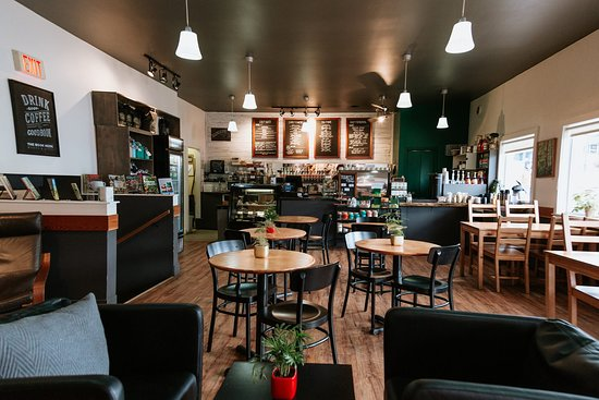 hot sale online 42cf7 98f87 Good coffee, love the gift shop - Cafe Guido, Port Hardy ...