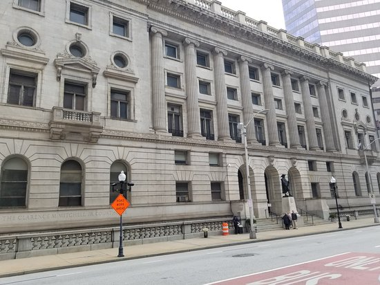 Museum of Baltimore Legal History-Clarence M. Mitchell, Jr. Courthouse