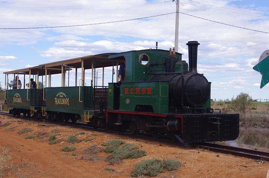 Red Cliffs Historical Steam Railway: Thurla