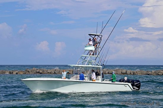 Lighthouse Point, FL: Inverted fishing charters