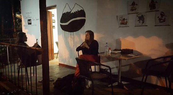 Minca, Colombia: Late night chats with some of our visitors