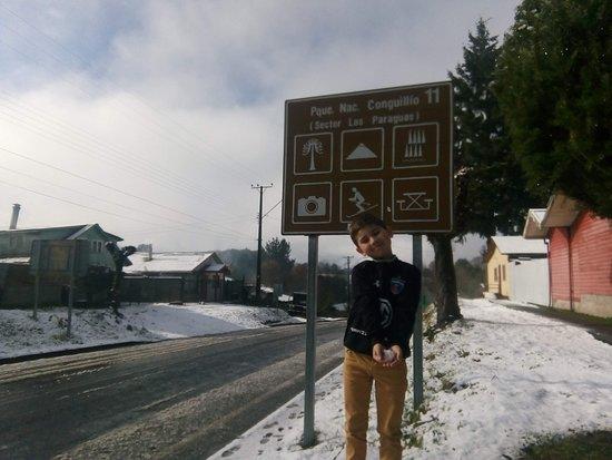 Vilcun, Chile: Cherquenco,camino al volcán Llaima