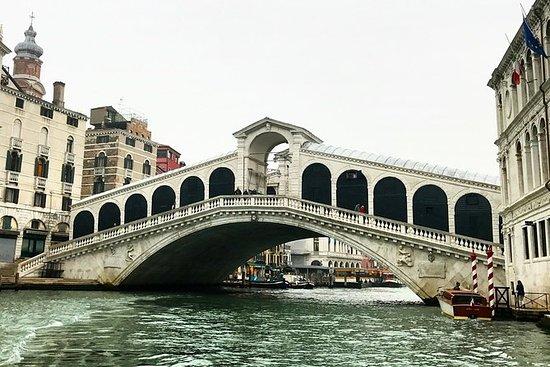 Venezia Grand Canal guidet båttur