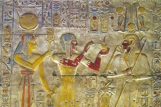 Dendera- und Abydos-Tempel aus...