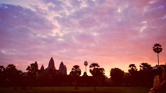 Angkor Sunrise Temples Solo Tour From...